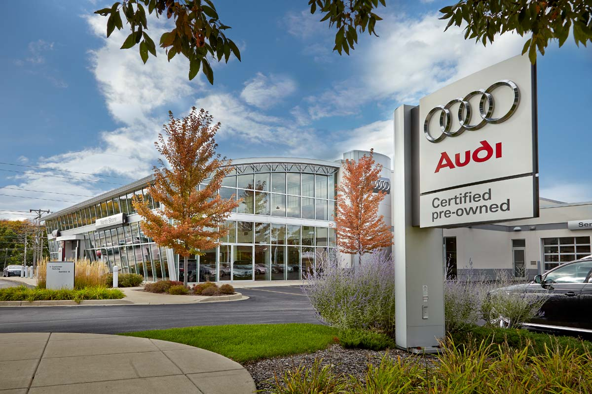 audi car dealership brown deer wisconsin structural engineers