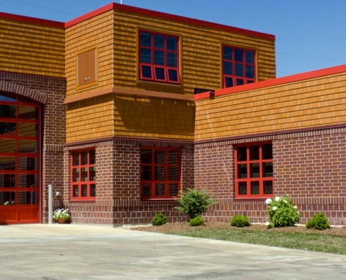 Wisconsin fire station ambrose engineering structural engineers